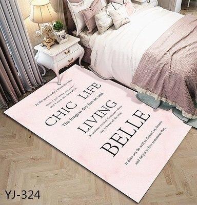 Japonais/Coréen Tapis Pour Salon tapis chambre à coucher canapé de velours Table Basse tapis de sol Chambre D'enfants Ramper Tapis Tapis