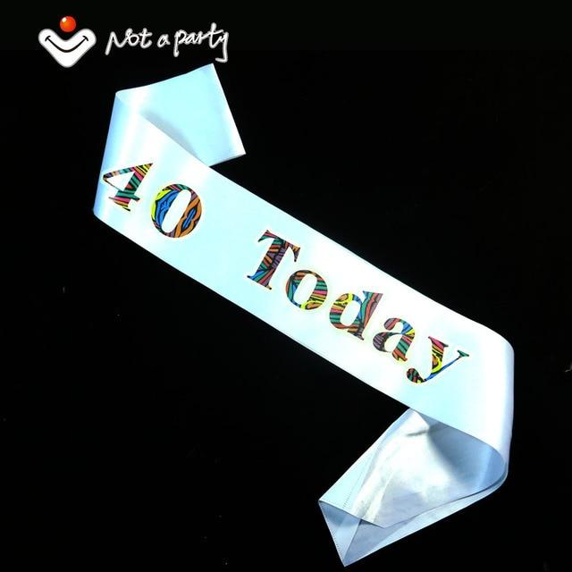 Feliz Cumpleaños 40 marco 50% de descuento para 3 unids 30 50 60 21 ...
