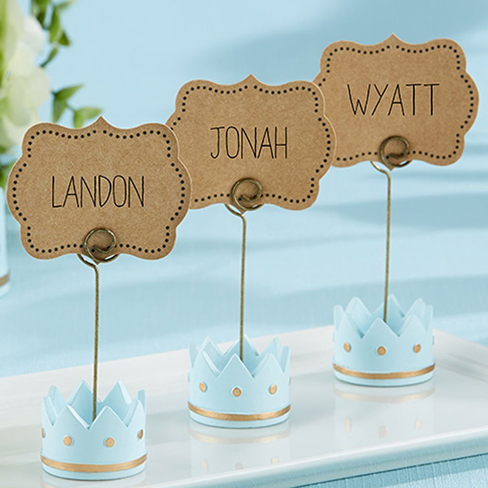 6pcs Place Card Holder Wedding Name Table Setting Marker Display Price Tag Blue In Party Diy Decorations From Home Garden On Aliexpress