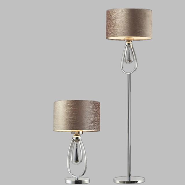 US $110.0 |Lampada da terra in ferro battuto galvanica non arrugginisce mai  minimalista soggiorno camera da letto comodino lampada a risparmio ...