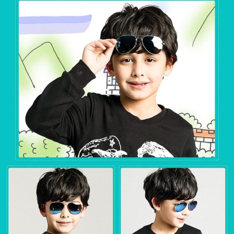 Clásico piloto Gafas de sol para niños Marco de metal tan fresco - Accesorios para la ropa - foto 3