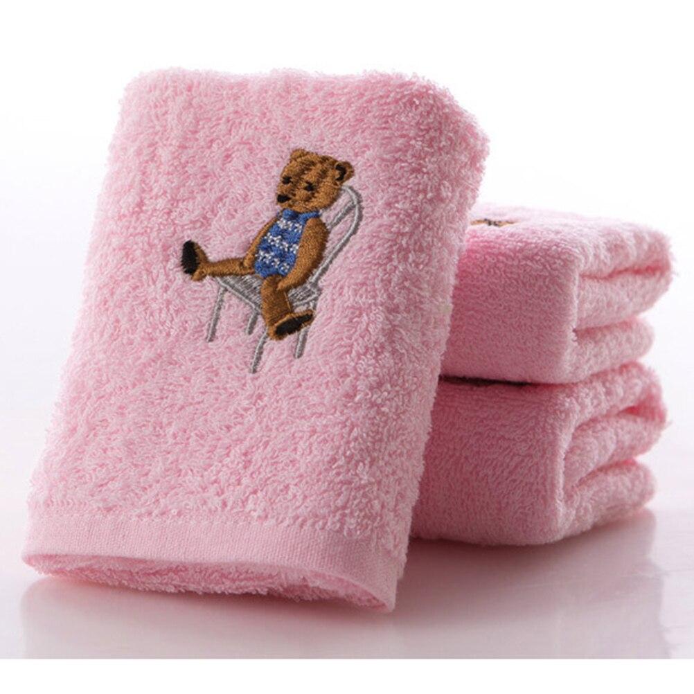 1 Stück Bär Handtücher Weich Mikrofaser Baumwolle Baby Infant Neugeborenen Waschlappen Handtuch Fütterung Tuch 50*26 Cm Reines Und Mildes Aroma