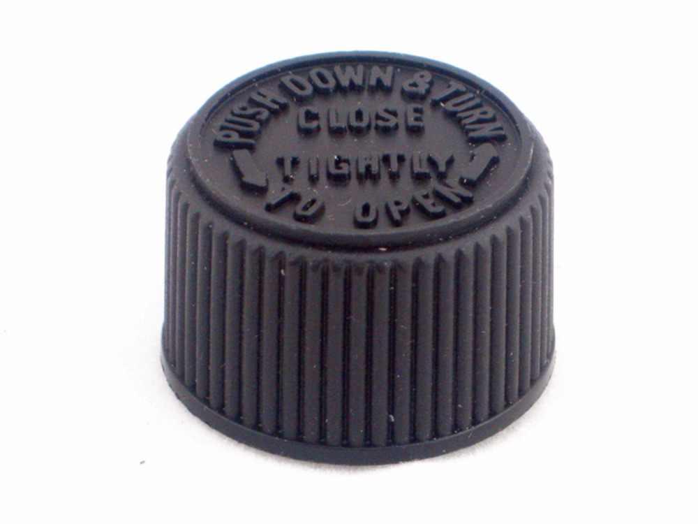 120ml Cosmo รอบขวดพลาสติก PET ใสขวดสีขาว/สีดำเด็กทนหมวก, ความปลอดภัยฝาปิด