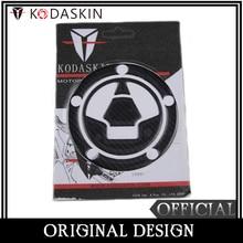 KODASKIN Fake Carbon Fiber Gas Cap Tank Pad Filler Cover Sticker Decals for KAWASAKI Z750 Z800 Z1000