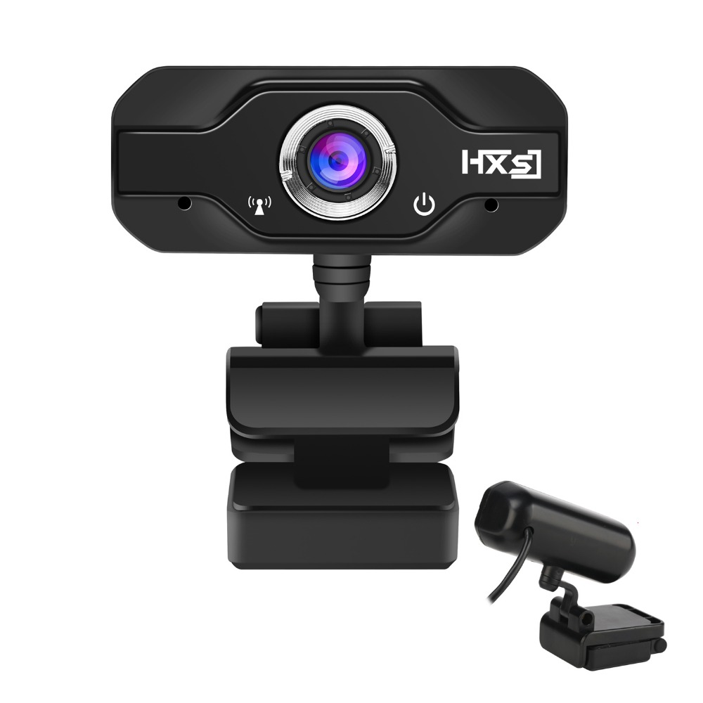 Hxsj S50 веб-Камера 720 P HD компьютер Камера Веб-камеры 360 градусов вращения С микрофоном для рабочего портативных ПК