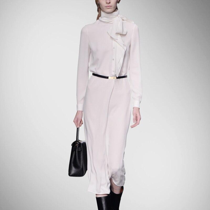Макси Платье Бросился Природный Пояса Regular Vestidos De Fiesta плюс Размеры и осенний период в новый Для женщин длинное платье шелк