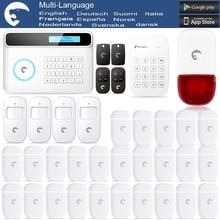 Etiger eTIGER GSM/PSTN Burglar Alarm System For Home/Office +25 Door Sensor & Strobe Siren