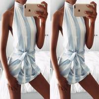 mini party dresses 2017 women summer dress tattoo sleeveless strap hanging neck sexy dress plus size vestidos beach dress