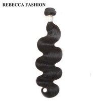 Rebecca Body Wave Raw Indian Hair 1 Bundle Remy Human Hair Bundles 8 To 30 Inch