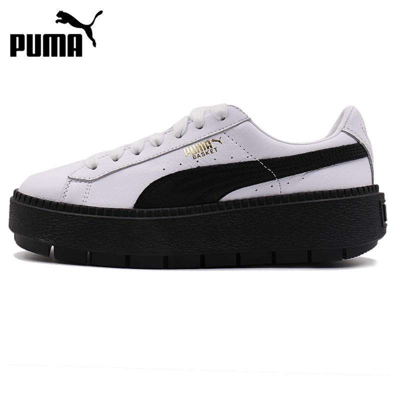 Original New Arrival 2018 PUMA Platform Trace L Wns Womens Skateboarding Shoes Sneakers