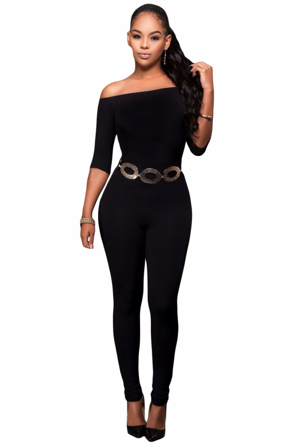Black-Bardot-Neckline-Fashion-Jumpsuit-LC64193-2-2