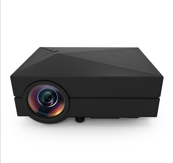 Mini Projector Portable Pocket Led 3D LCD Full HD 800*480 1200Lumens FOR Video Home Theater Support HDMI VGA with SD USB gigxon g700a android portable mini projector support full hd level 1920x1080pixels 1200 lumens led projector