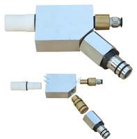 Enamel powder coating recovery powder pump for enamel paint spray gun and machine