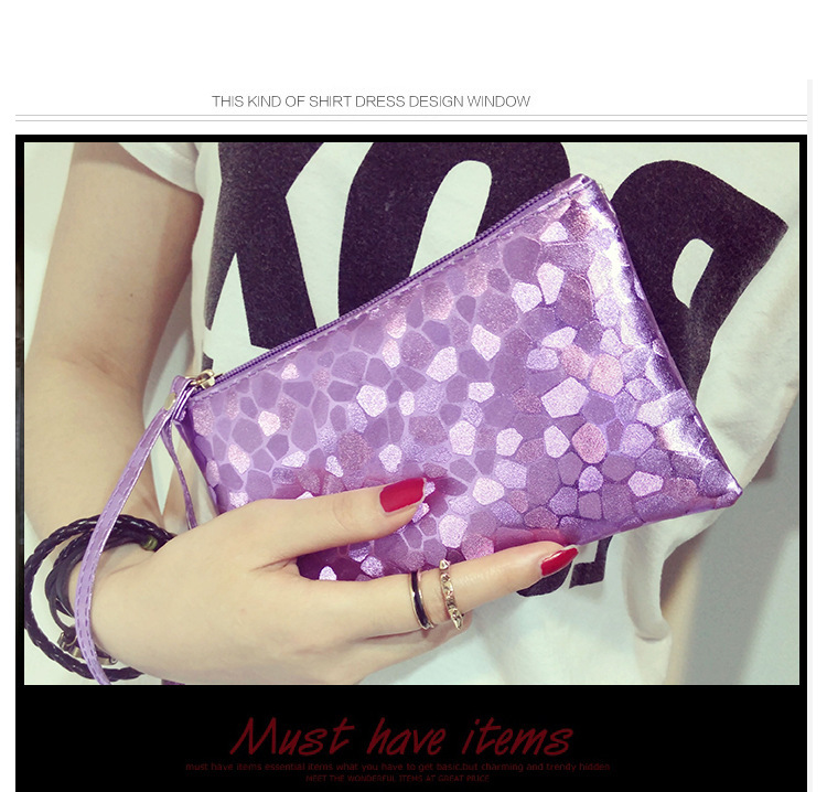 Women Fashion Autumn Winter New Korean Style Hand Clutch Bag Clutches Bags Online Shopping Black Silver Gold Blue Purple16