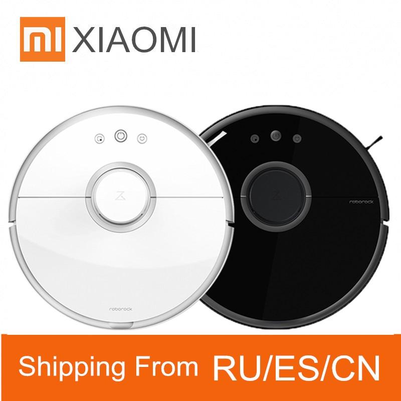 Staubsauger Sonderabschnitt Original Xiaomi Mihome Roborock S50 S55 Roboter Vakuum Für Home Wifi App Control Nass Mopp Smart Geplant Reinigung