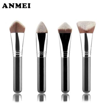New creative 3D4D Foundation Brush 1pcs Makeup brushes Powder Blush Foundation Face Contour Brush Tools Professional Beauty Cos makeup brushes