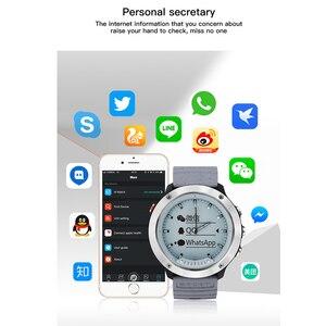 Image 4 - Yeni M5 hibrid akıllı saat IP68 su geçirmez şeffaf ekran akıllı bant nabız monitörü IOS Android için akıllı bileklik