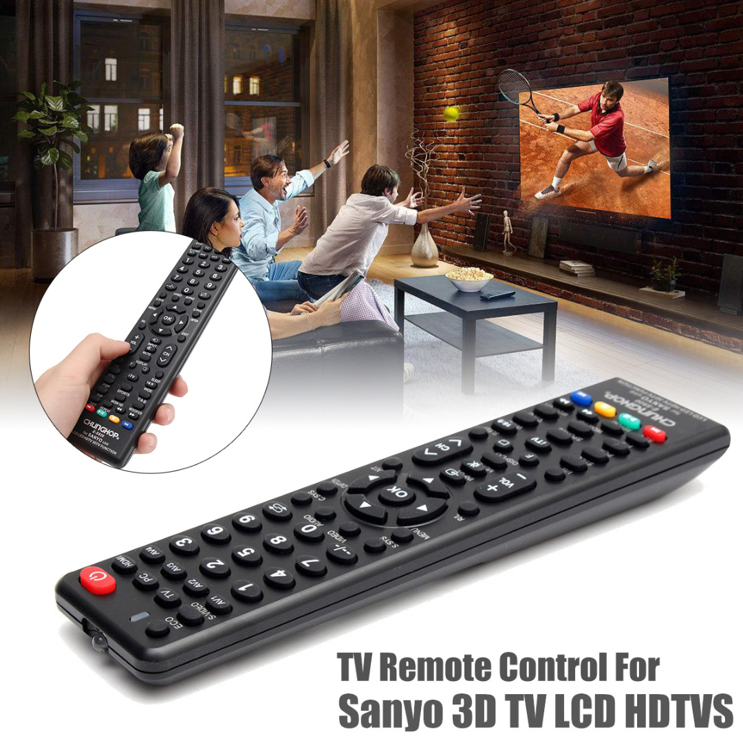 New Arrival 1pc Universal Replacement Remote Control Professional HDTV TV Remote For E-S920 SANYO LCD LED HDTV 3DTV