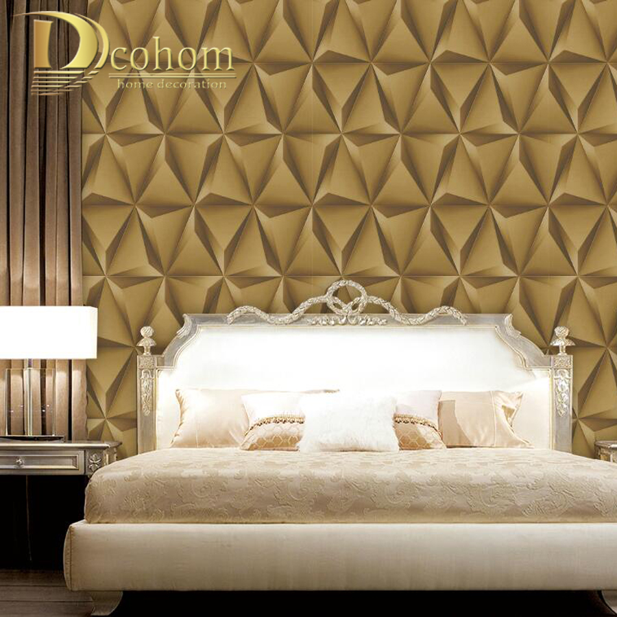 Buy luxury faux leather soft bag silk for Modern vinyl wallpaper