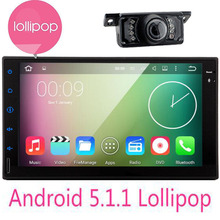 Android 5.1.1 Car Radio Double 2 Din Car Multimedia Player GPS Navigation video mp4 Player Car 2 din Audio Stereo Auto Head Unit