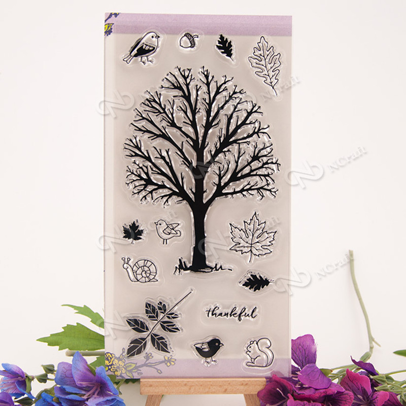 The trees and the birds Scrapbook