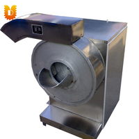 UDST600 Double Use Stainless Steel French Fries Cutting Machine/ Potato Chips Strip Slicing Machine