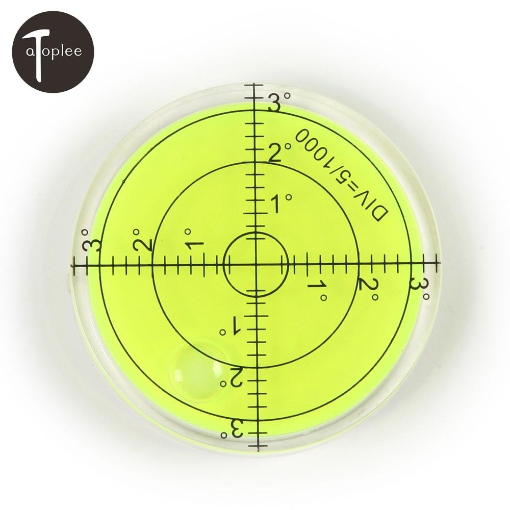 10//20PCS 14mm*8mm disque à bulle bouton niveau Rond Circulaire