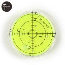 Бесплатная доставка 1 шт. пузырь градусов отмечены поверхности самовыравнивающийся для камеры Ttripod мебель игрушка уровень измерительные приборы , инструменты