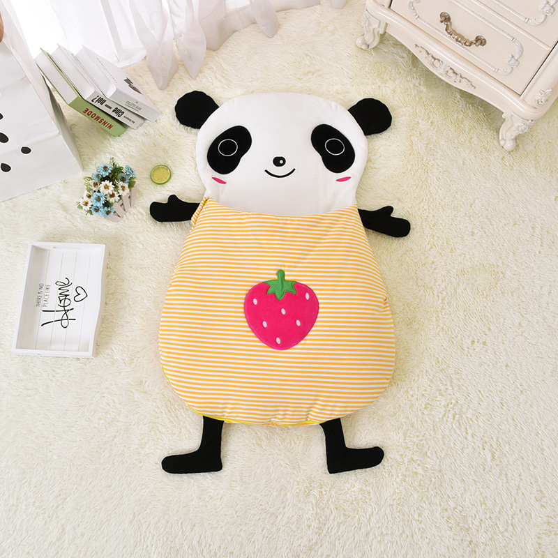 New Arrival Cute Cartoon Baby Sleeping Bag Newborn Prams Bed Swaddle Blanket Wrap Bedding Cotton Warm Childrens Sleeping Bag