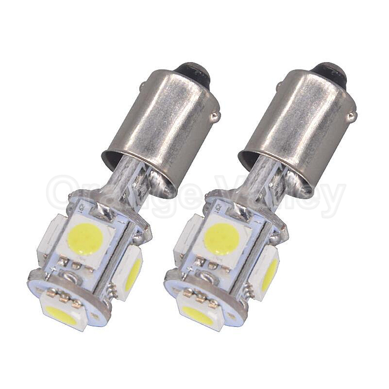 2pcs BA9S T11 H6W Canbus Error Free 5 LED 5050 SMD Car Interior Lights Reading Dome Lamp Map lighting Auto Bulbs DC 12V 2pcs 12v 31mm 36mm 39mm 41mm canbus led auto festoon light error free interior doom lamp car styling for volvo bmw audi benz