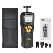 Digital Tachometer Speed Meter Tach Meter 0.5-19999 RPM Rang Adopts MCU Electrooptical Technology For Contact Speedometer цены