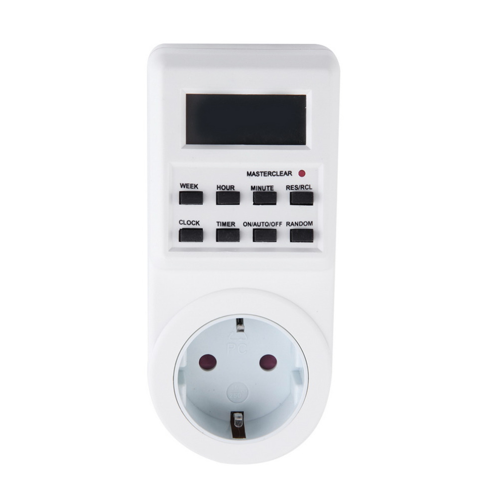 Plug-in Programmable Timer Switch Socket with Clock Summer Time Random Function Free Shipping Drop Shipping 1pc original q5 led driver led headlight drl ballast 8r0 907 472 b 8r0907472b 10045 17078 genuine and used