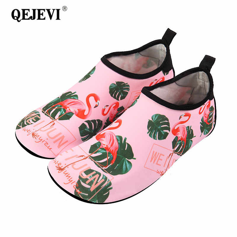 dc89a2ce1440 ... 2018 Summer Baby Shoes Girls Boy Barefoot Beach Water Shoes Cartoon Aqua  Flat Socks Outdoor Swimming ...