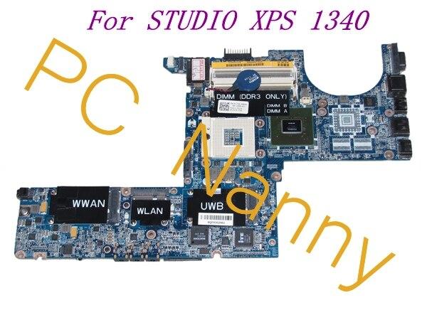 FOR DELL STUDIO XPS 1340 Laptop Intel ICH9M MOTHERBOARD K172D 0K172D DA0IM3MBAG0 INTEGRATED - TESTED