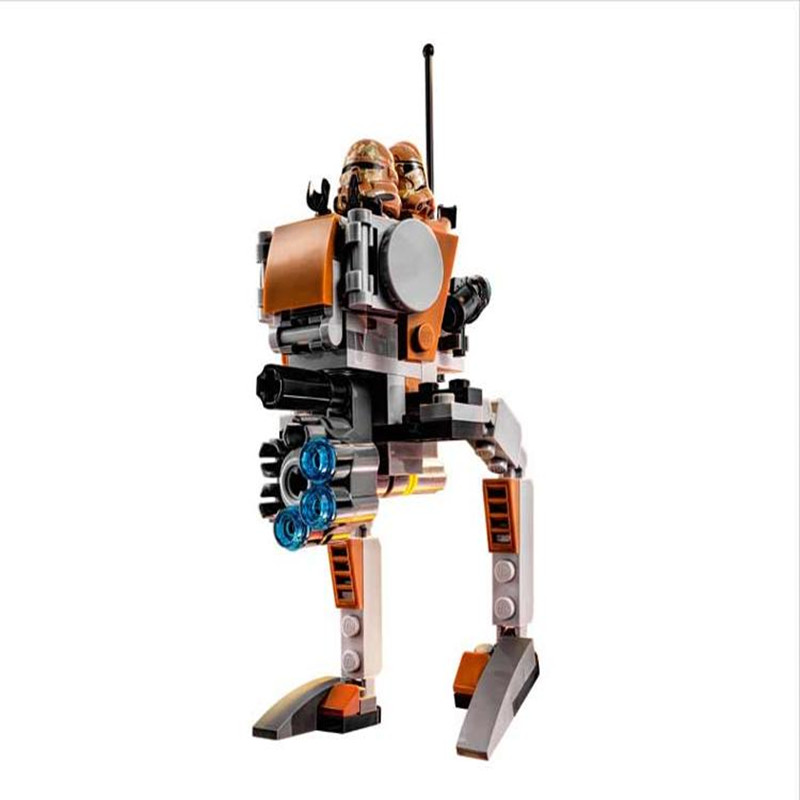 Compatible legoingly 75089 Star Wars 10368 Classic Geonosis Troopers Model Building Blocks Educational Toys for Children gifts