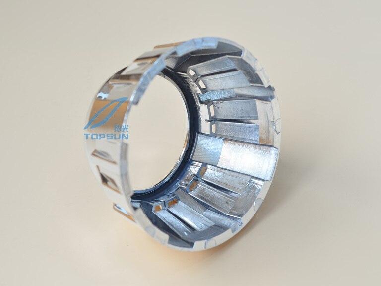 Высокая Температура устойчивы проектора кожухи маска Тип пушки Гатлинга 2.0 универсальный подходит для 3.0 дюймов объектив проектора