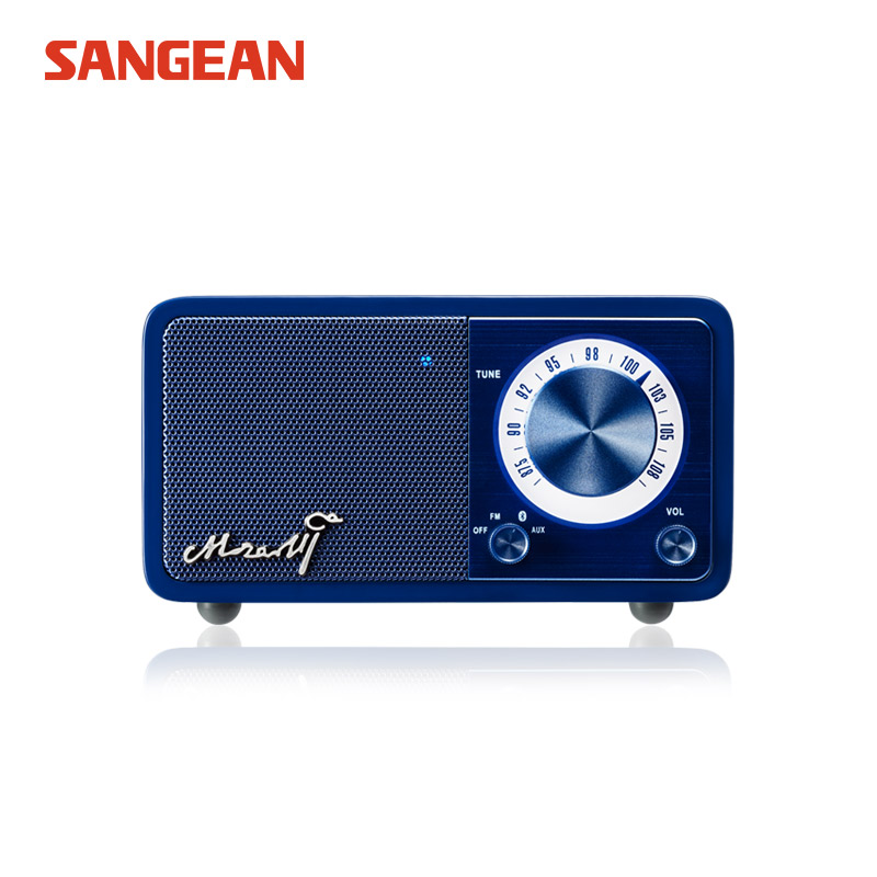 Sangean Mozart Mini Blue Bluetooth speaker with radio Free shipping все цены