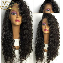 Glueless Curly Full Lace Human Hair Wig Unprocessed Virgin 26Inch Human Hair Glueless Full Lace Wig For Black Women High Density