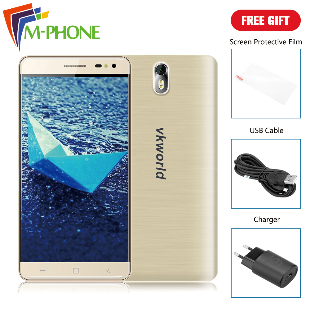 Original VKworld G1 Mobile Phone 5 5 inch 4G 5000mAh Android 5 1 MTK6753 Octa Core