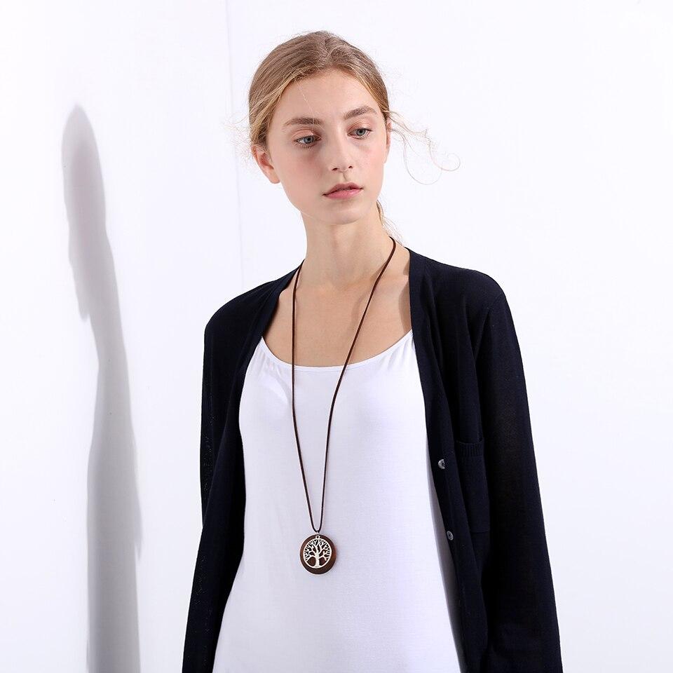 2017 Baru pernyataan kalung & liontin vintage Kayu Kehidupan Pohon - Perhiasan fashion - Foto 3