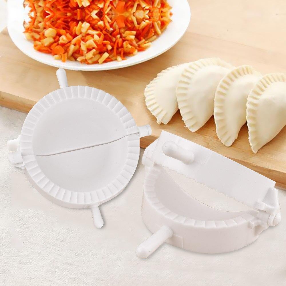 US 3Pcs Dumpling Mold Pierogi Turnover Ravioli Empanada Dough Press Mould Maker