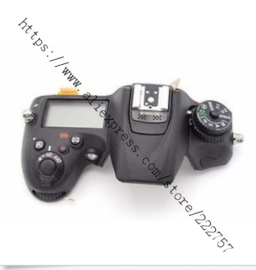 Original Top Cover Shell with Flash board Top LCD FPC Unit For Nikon D7200 Camera Repair Replacement Part d7000 rear back cover shell with lcd button fpc for nikon d7000 for nikon