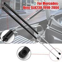 1x Hood Shock Strut Damper Lift Support Insert Black For Mercedes Benz SLK230 98 04