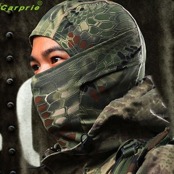 AUTO cool 1PC Camouflage Army Cycling Motorcycle Cap Balaclava Hats Full Face Mask Bicycle Cap Men Riding Bandana OC 31 face mask