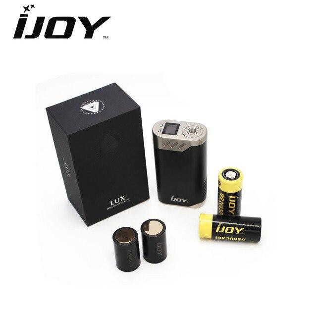 Оригинал IJOY безграничны Lux 215 Вт TC коробка VAPE mod электронных сигарет безграничны Lux двойной 26650 батареи mod Fit для безграничные rdta плюс