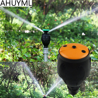 5pcs 1/2 DN15 360 degree Rotating Nozzle Spraying Radius 8 10 Meters 2 Kinds Angle Agriculture Forestry Irrigation Watering