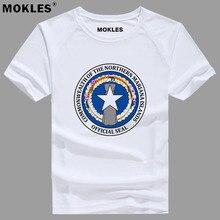 NORTHERN MARIANA ISLANDS t shirt diy free custom made name number mnp t shirt nation flag