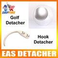 US Stock To USA 1Pc 12000gs Golf Detacher 1Pc Detacher Hook Key Tag Remover EAS System The Security Detacher