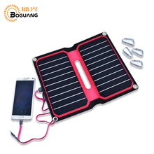 Solarparts 1x 5V/10W Red background color ETFE laminated all-in-one high efficiency solar charger 12V solar panel cell flexible