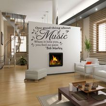 Bob Marley Music Vinyl Wall Stickers DIY Home Decor Wall Mural Removable  Decals Free Shipping Part 50